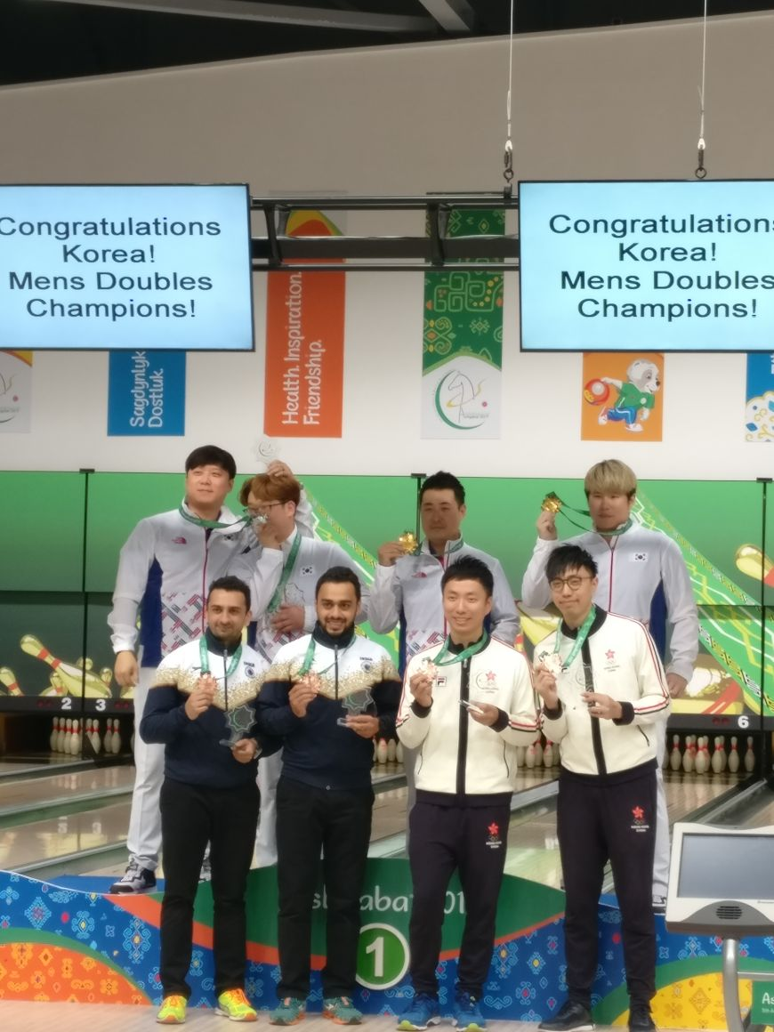 All Medal winners Men Doubles