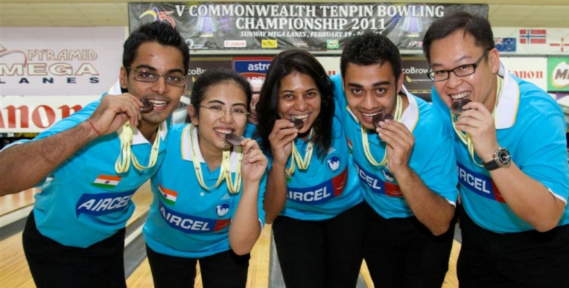 Indian Bronze Medal Winning Team at CRBC 2011
