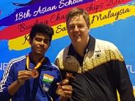 Shoumick Datta bags Bronze  Medal !